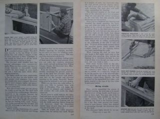 1968 How to Build HI LO CAMPER SHELL for Your PICKUP TRUCK DIY ARTICLE