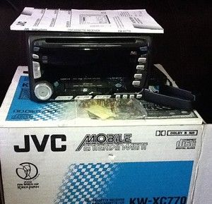 JVC Am FM CD Cassette Receiver Car Stereo