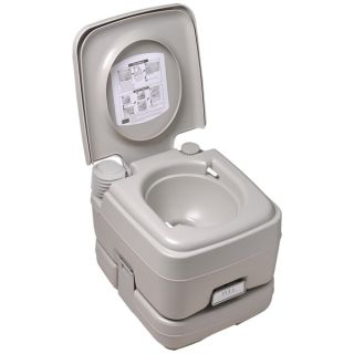 Gal Portable Camp Toilet Travel Camping Potty Dual Spray