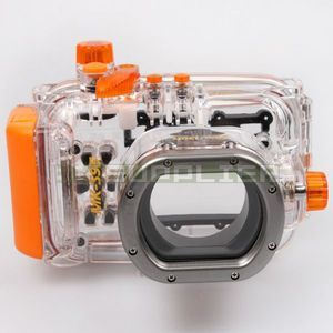 Underwater Diving Camera Waterproof Housing Cover Case for Canon S95