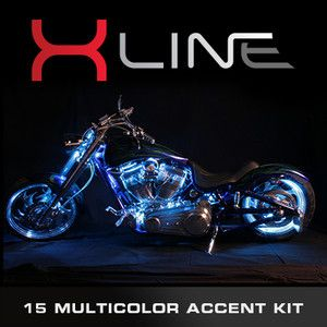LINE MILLION COLOR LED ACCENT GLOW LIGHTS CAN AM MOTORCYCLE LIGHT KIT