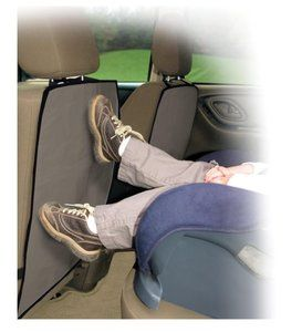 Real Deal Back of Car Seat Cover Kick Mats 2 Pack Best