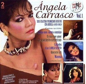 ANGELA CARRASCO 1978 1983 CD Con Amor Quererte A Ti Unidos Amigo Mio