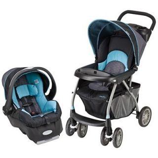 Evenflo Journey 300 Car Seat Stroller Travel System Blue Koi Brand New