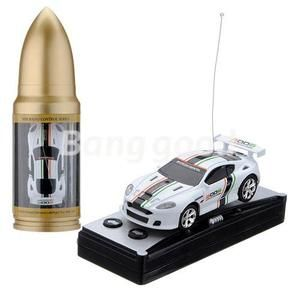 Bullet Can Mini RC Radio Remote Control Micro Racing Car Vehicles Toy