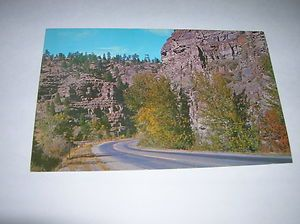 Old Wolf Creek Canyon Between Helena and Great Falls Montana Postcard