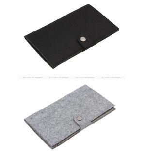 Fashion Card Holder Cover Eco Bag Case Purse Wallet Handbag Felt New