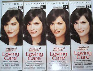 Clairol Loving Care Hair Color Natural Black 83