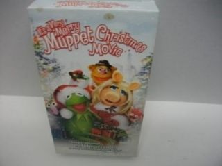 ITS A VERY MERRY MUPPET CHRISTMAS MOVIE VHS Kids video tape