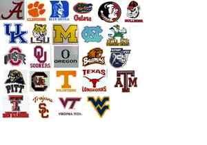 NCAA College Window Clings Static Reusable Decal You Choose Your Team