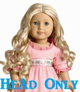 Brand New American Girl Doll Caroline Head Only Newest Historical Doll