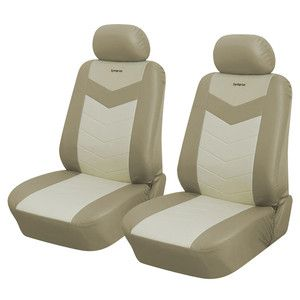 Front Car Seat Covers Compatible with Jeep 157 Caramel