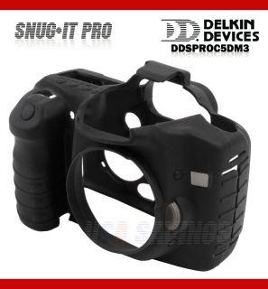 Delkin Snug It Pro Camera Armour for Canon EOS 5D Mark III