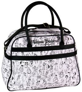 Bag Hanna Barbera White Version Classic Cartoon Characters
