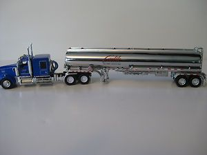 Carlile Ice Road Truckers Kenworth w Tanker by DCP Diecast