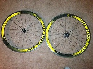 Reynolds Assault Full Carbon Clincher Wheels 46mm Custom Decal