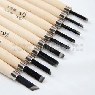10pcs Wood Carving Chisels Set DIY Tool Hand Tools