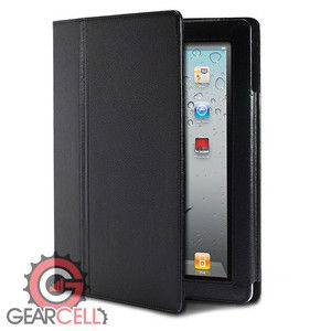 Leather Stand Case Skin Cover W Screen Protector For iPad 3 2 3rd