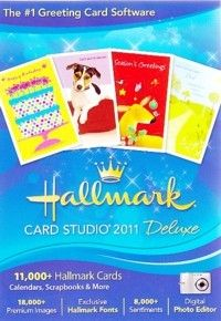 Card Studio 2011 Deluxe Design Greeting Cards PC Software