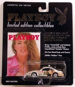Carmen Electra Playboy Celebrity Car Series Le 1 64 Scale Diecast Car