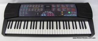 Casio CTK 560L 61 Key Light Up Piano Electric Keyboard Electronic Very