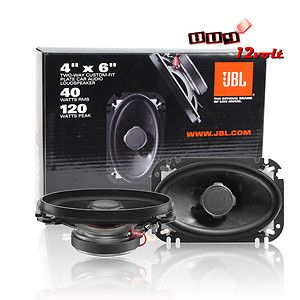 JBL GTO6428 4 x 6 2 Way Grand Touring Series Coaxial Car Speakers