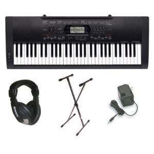 Casio Premium Pack Piano Electronic Keyboard w Stand