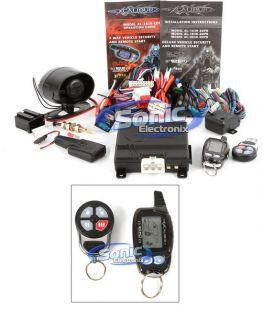 1830 Edpb 2 Way Security Car Alarm w Keyless Entry Remote Start