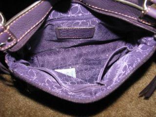 Fossil Castille Traveller Purple Plum Cross Body Purse