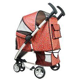 pet dog stroller carrier zebra print 1318889 showa