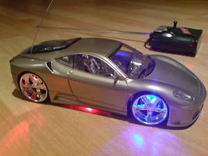 Ferrari Spider Car LED Lights Radio Remote Control Car