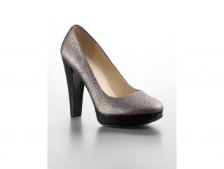 Calvin Klein Carley Metallic Platform Pump Womens