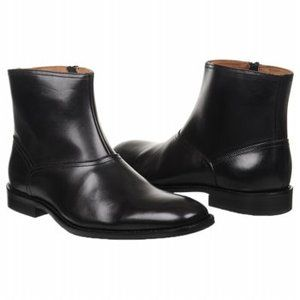 New Johnston and Murphy Knowland Black Plain Mens Boot