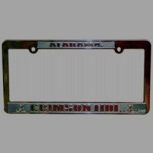 Alabama License Frame New Crimson Tide Roll Car Tag