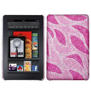 Kindle Fire Crystal Diamond BLING Hard Snap Case Tablet Cover Akiba