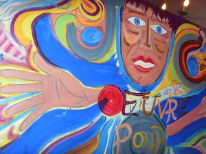 Painting Jesus Christ Peace World Jordi Casals Picasso
