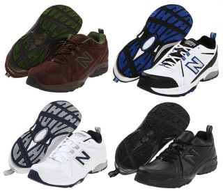 New Balance Mens Leather Sneakers Cross Training Shoes