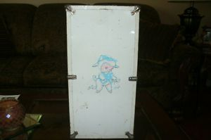 Vintage Cass Toys Wooden Doll Case 1950 Collectible