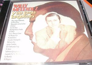 CD ORIGINAL WILLY MELENDEZ Y SU GRAN ORQUESTA EL HIPPIE TREMENDO SELLO