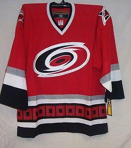Carolina Hurricanes Home Red CCM 550 Jersey Small