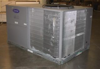 Carrier Packaged Rooftop 10 Ton Air Conditioner Electric Heating Unit