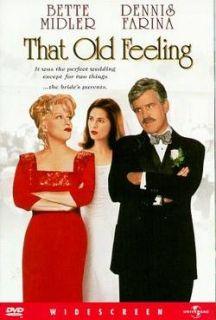 Title THAT OLD FEELING Bette Midler, Dennis Farina DVD New