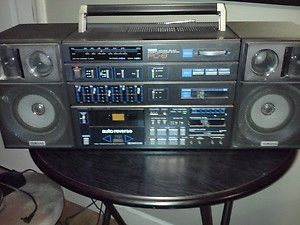 Vintage Boombox RARE!!!!! YAMAHA Cassette Deck Tape Player Receiver PC