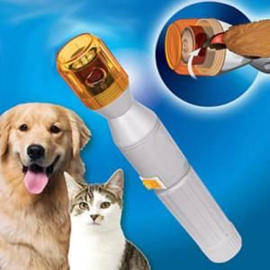 Pet Dog Cat Nail Grooming Care Grinder Trimmer Clipper