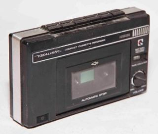 Vintage Realistic 14 802 Compact Cassette Tape Recorder