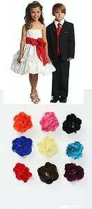 New CC D 578 Flower Girl White or Ivory Dress Choose Sash Flower Color