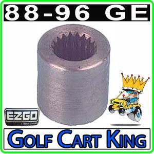 EZGO Coupler 1988 96 GE Electric 19 Spline Golf Cart Motor