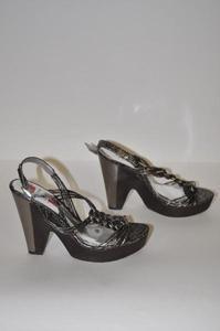 Carlos by Carlos Santana New Womens Pewter Shoes Sz 8.5 nib $99 Free