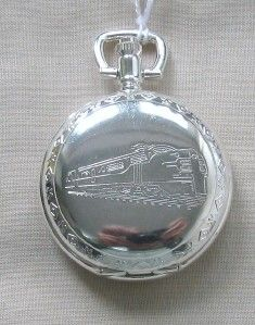 Collection Silver Plated Pocket Watch Carlston & CO Model Certificate