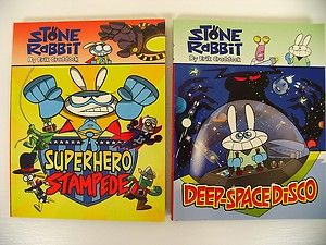Stone Rabbit Graphic Novels kids cartoon comic books Erik Craddock Fun